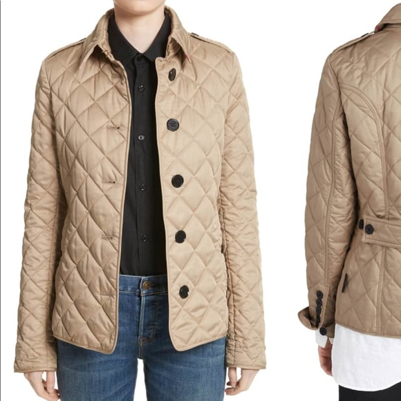 5aded090e85 Burberry Jackets   Blazers - Burberry Frankby Quilted Jacket